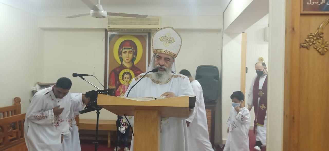 الكنيسة الكاثوليكية بالغردقة تحتفل بعيد الختان  (1)