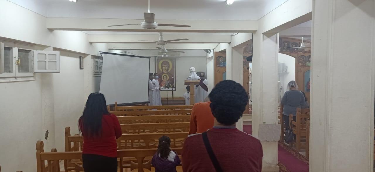 الكنيسة الكاثوليكية بالغردقة تحتفل بعيد الختان  (2)