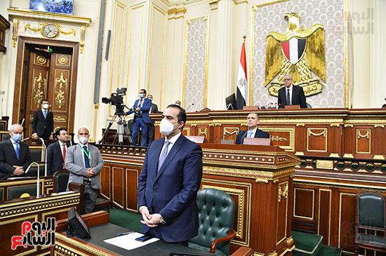 المستشار محمود فوزى  الأمين العام السابق للمجلس