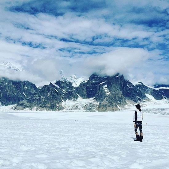 أدنى درجة حرارة - 59.7 درجة مئوية في دينالي بألاسكا