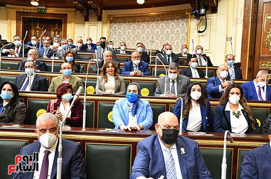 عدد من حضور النواب