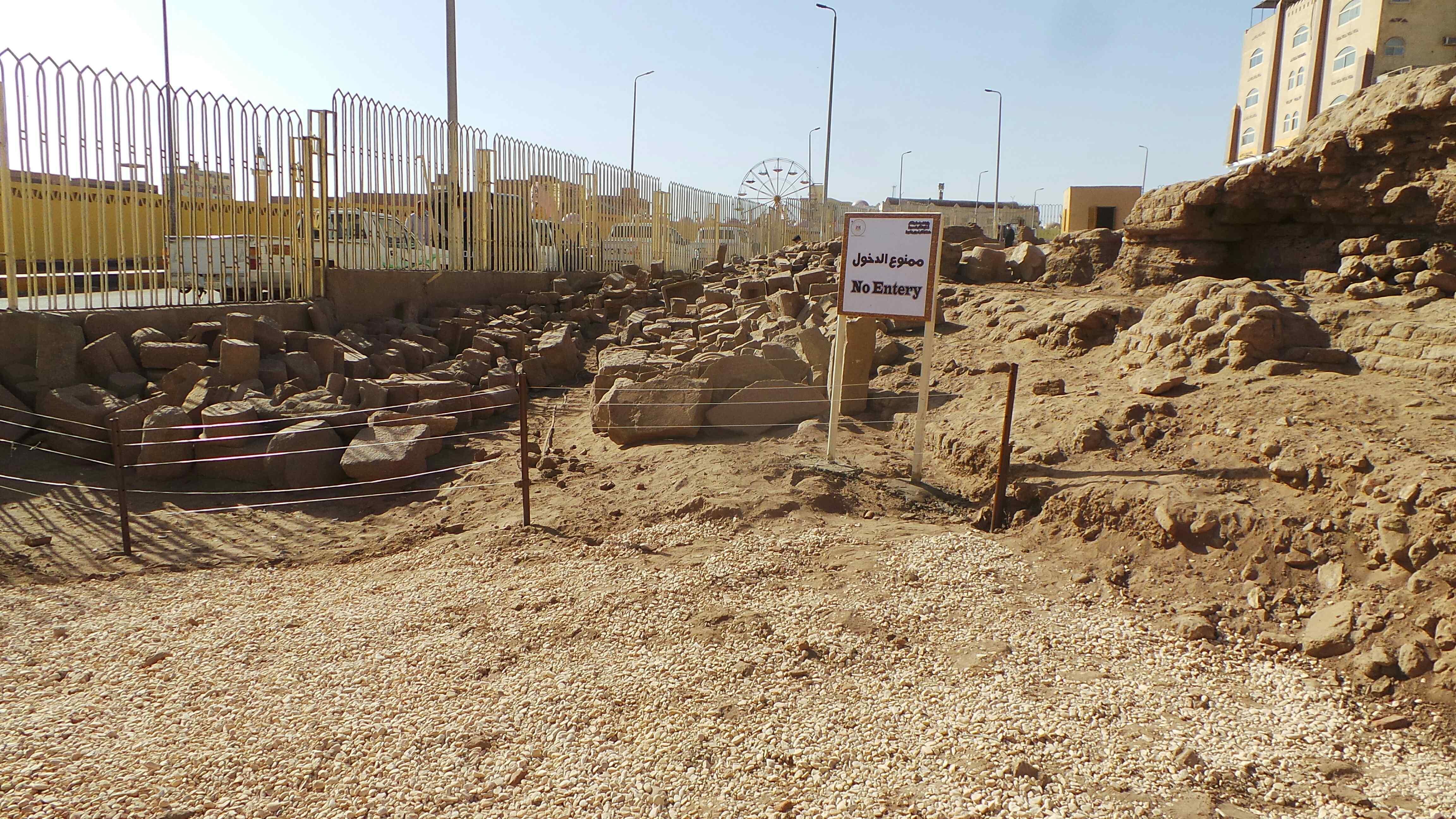معبد إيزيس بعد افتتاحه بمناسبة عيد أسوان (1)