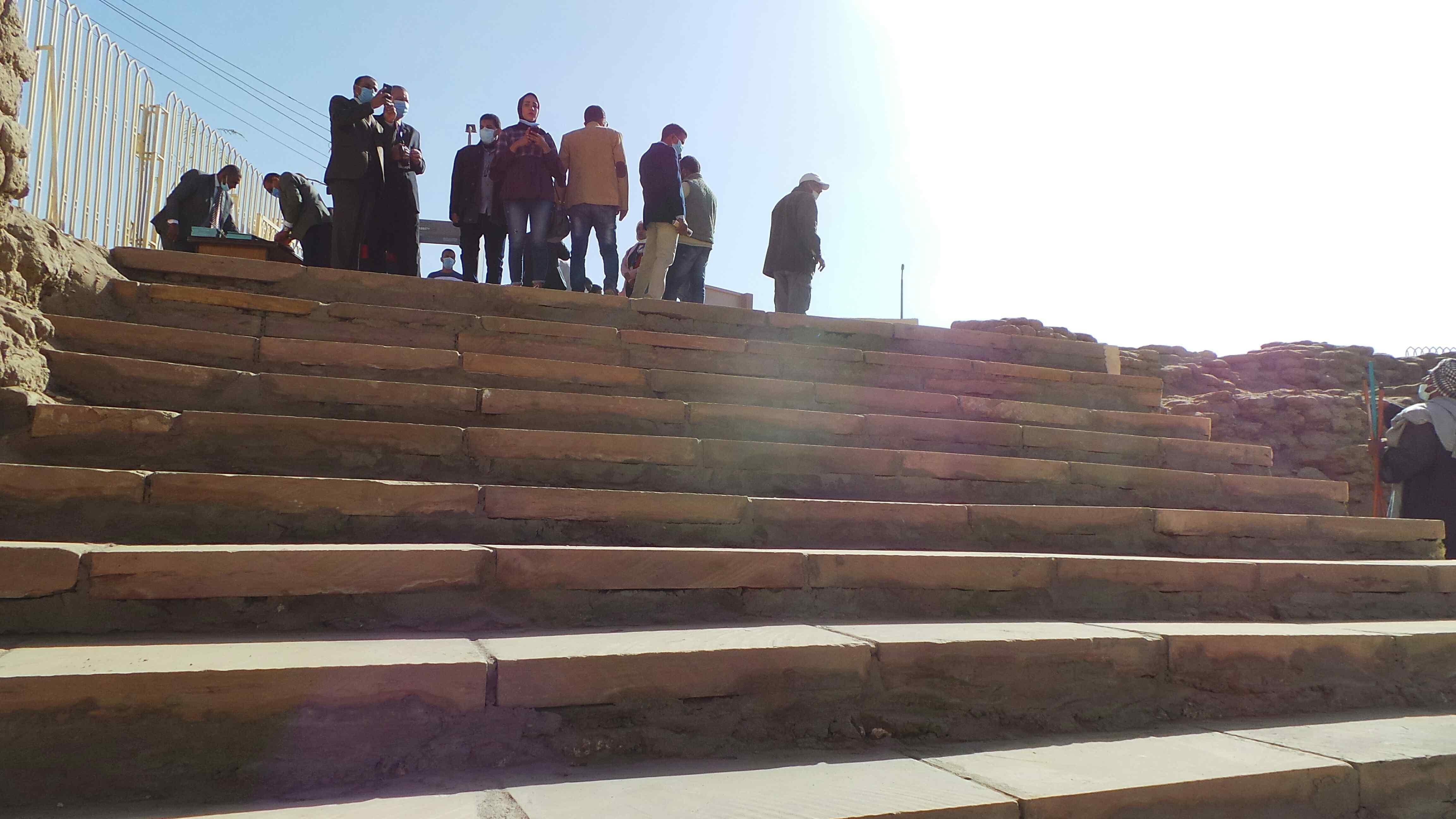 معبد إيزيس بعد افتتاحه بمناسبة عيد أسوان (3)