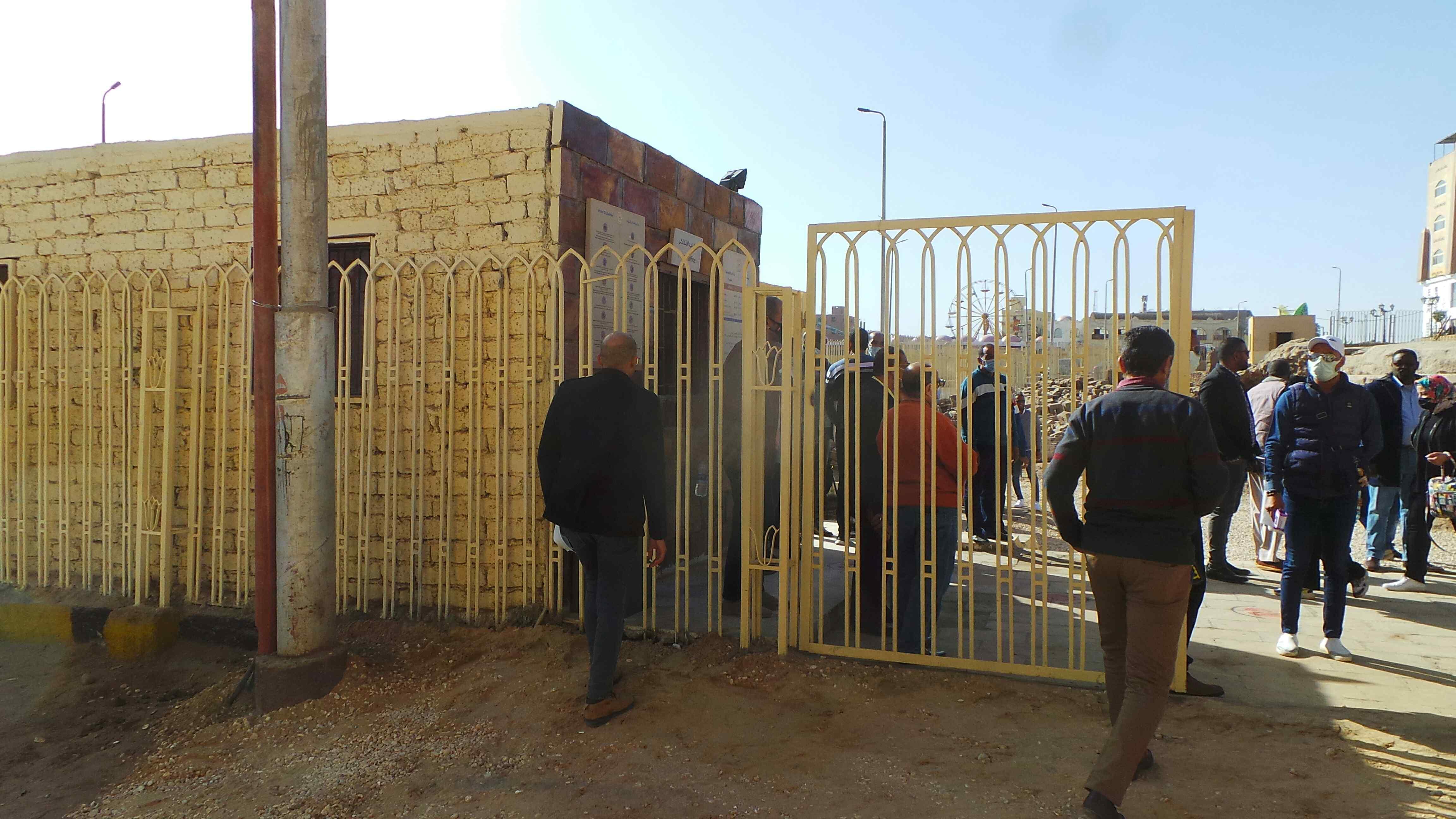 معبد إيزيس بعد افتتاحه بمناسبة عيد أسوان (14)