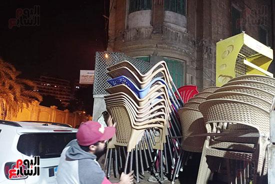 المحافظات تواصل حملات ضبط مخالفى ارتداء الكمامة وفض التجمعات والأسواق (1)