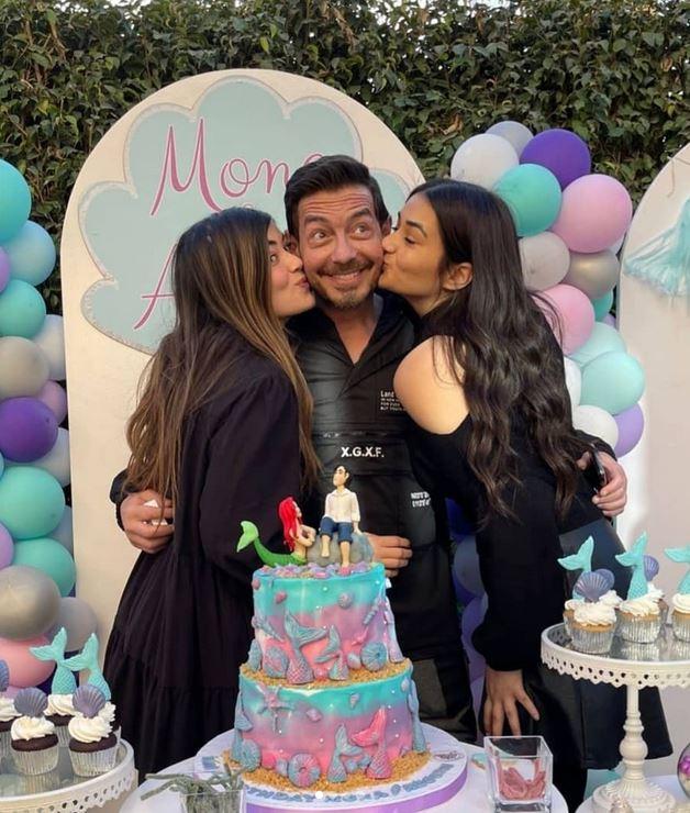 احمد زاهر يحتفل بعيد ميلاد ابنته (3)