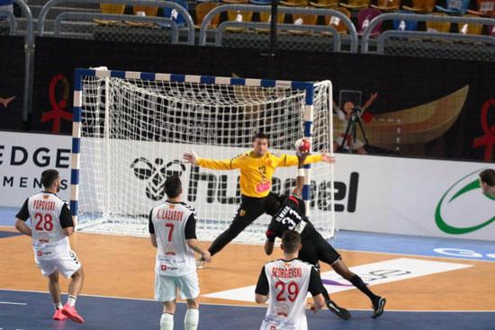 مباراة مصر ومقدونيا (1)