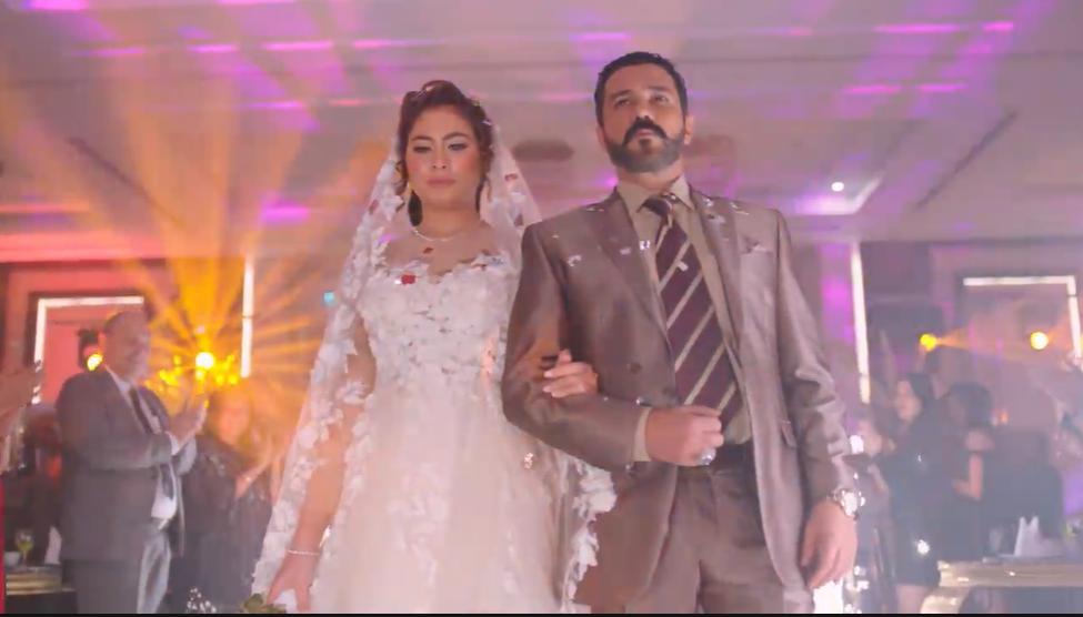 زواج محمد رجب وهاجر أحمد