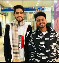 أحمد شعبان وصديقه