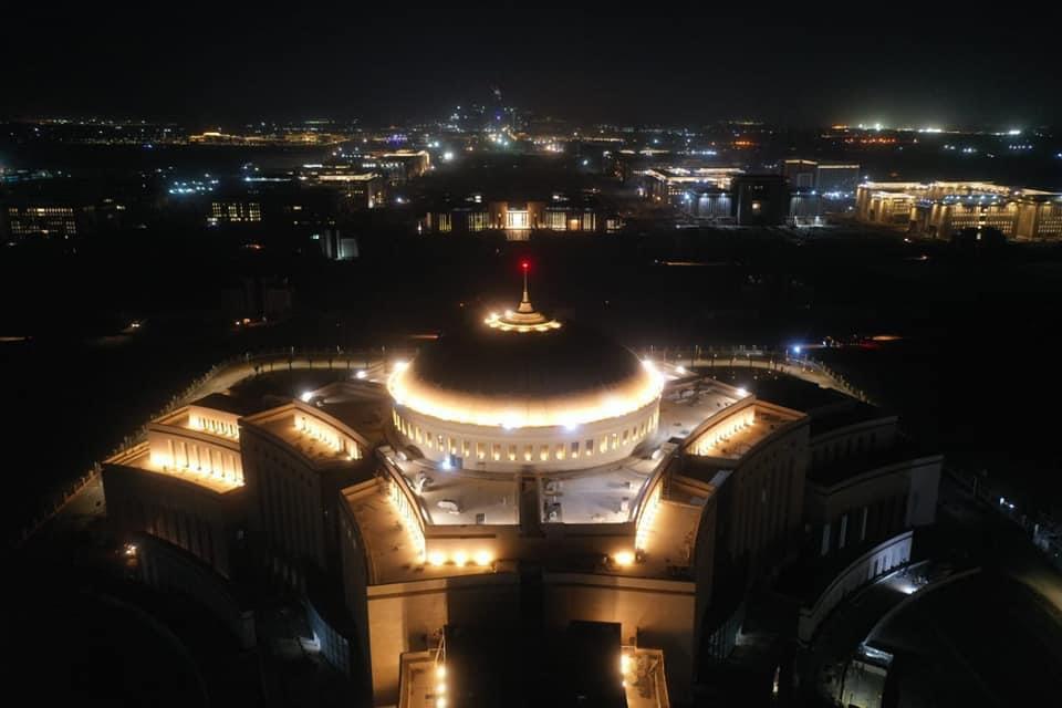 مبنى مجلس النواب فى العاصمة الإدارية الجديدة تحفة معمارية
