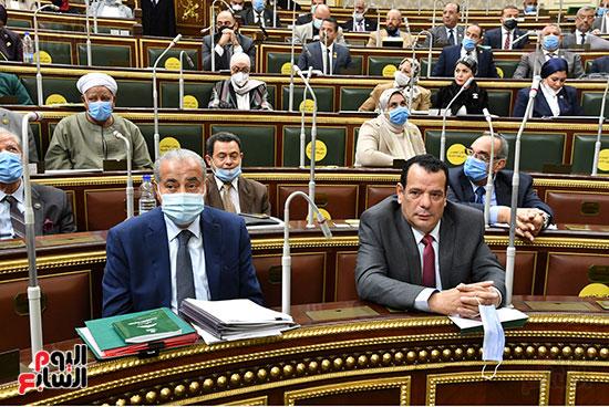 جلسه مجلس النواب - وزير التنميه المحليه (52)