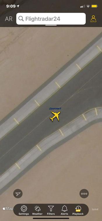 انطلاق أولى الرحلات الجوية من مطار القاهرة إلى الدوحة  (3)