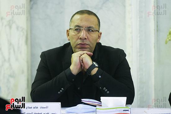 الكاتب الصحفى خالد صلاح رئيس تحرير اليوم السابع