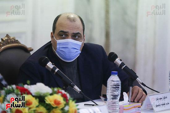 الدكتور محمد الباز رئيس تحرير صحيفة الدستور