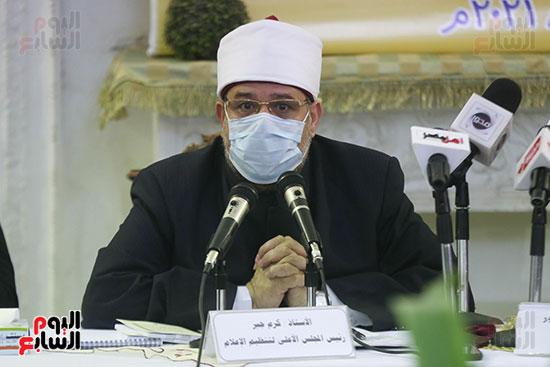 كلمة الدكتور محمد مختار جمعة وزير الاوقاف خلال الندوة