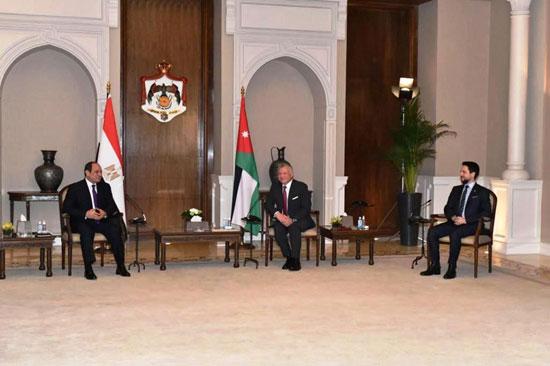 الرئيس عبد الفتاح السيسى والملك عبد الله الثانى (5)