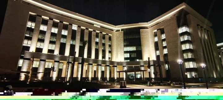 صورة ليلية من الحى الحكومى