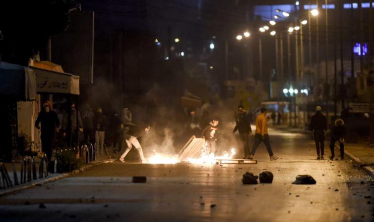 الاحتجاجات في تونس