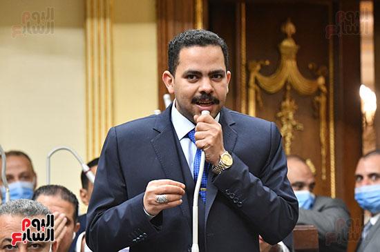 جلسه مجلس النواب - وزير التنميه المحليه (24)