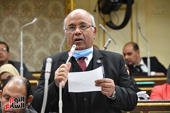 جلسه مجلس النواب - وزير التنميه المحليه (9)