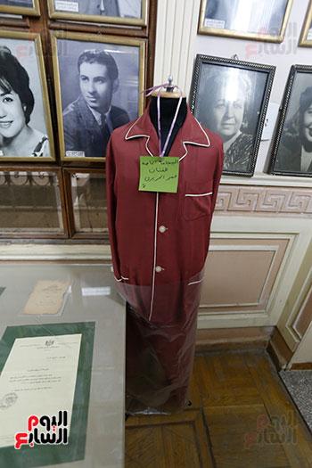 بيجامة عمر الحرير في متحف الفنانين