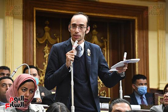 جلسه مجلس النواب - وزير التنميه المحليه (17)