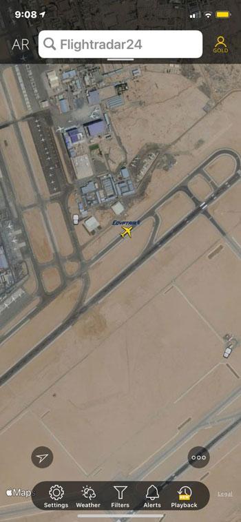 انطلاق أولى الرحلات الجوية من مطار القاهرة إلى الدوحة  (4)