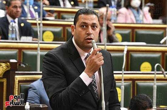 جلسه مجلس النواب - وزير التنميه المحليه (33)