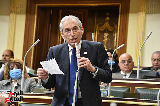 جلسه مجلس النواب - وزير التنميه المحليه (41)