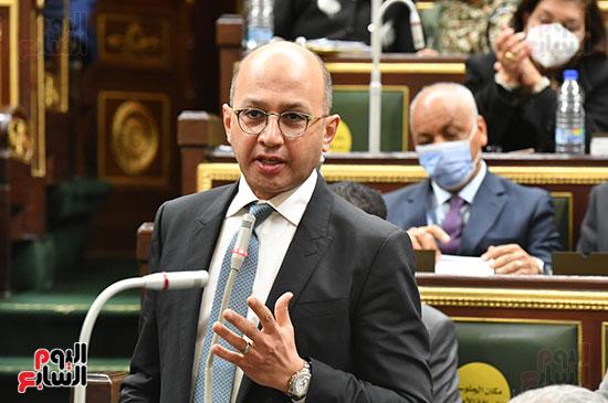 جلسه مجلس النواب - وزير التنميه المحليه (19)
