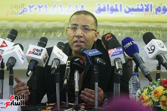 خالد صلاح رئيس تحرير اليوم السابع بندوة استراتيجية بناء الوعى