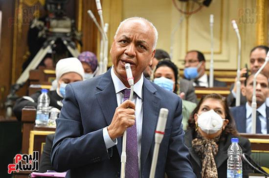 جلسه مجلس النواب - وزير التنميه المحليه (22)