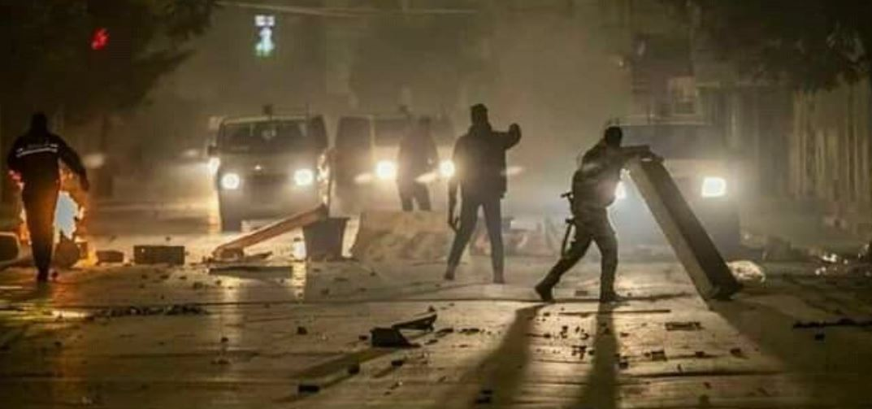 أعمال الشغب في تونس