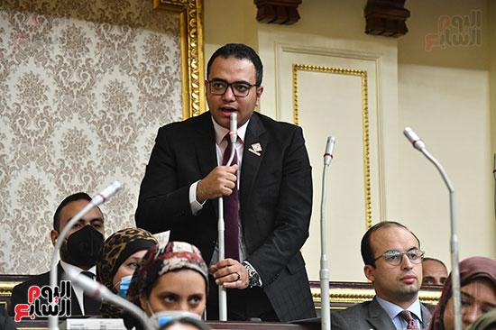 جلسه مجلس النواب - وزير التنميه المحليه (29)