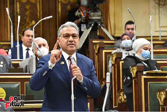 جلسه مجلس النواب - وزير التنميه المحليه (51)