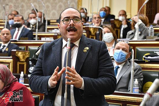 جلسه مجلس النواب - وزير التنميه المحليه (39)