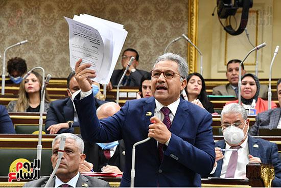 جلسه مجلس النواب - وزير التنميه المحليه (53)