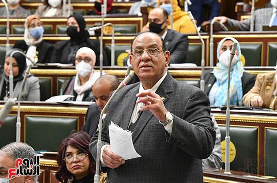 جلسه مجلس النواب - وزير التنميه المحليه (27)