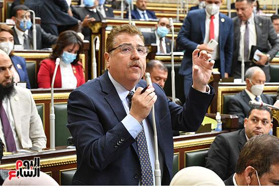 جلسه مجلس النواب - وزير التنميه المحليه (21)