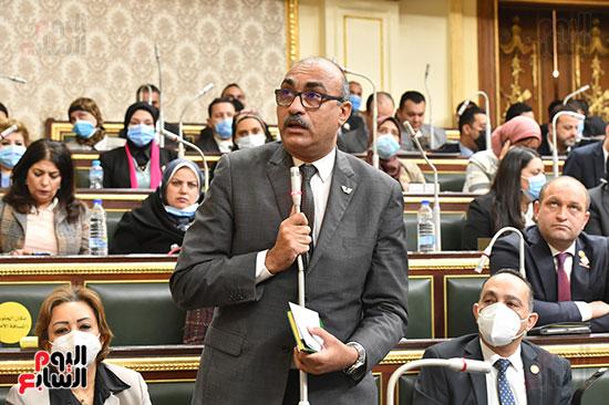 جلسه مجلس النواب - وزير التنميه المحليه (5)