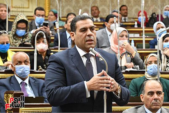 جلسه مجلس النواب - وزير التنميه المحليه (26)