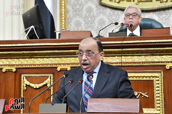 جلسه مجلس النواب - وزير التنميه المحليه (49)