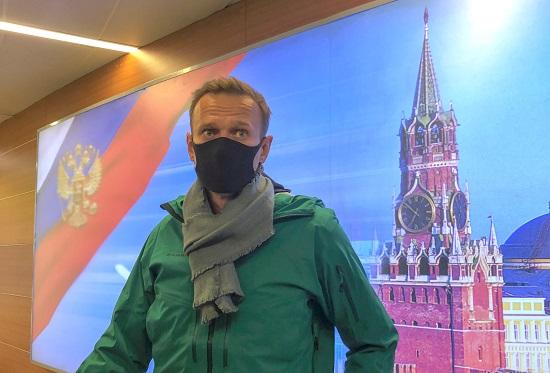 زعيم المعارضة الروسي نافالني