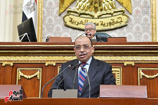 جلسه مجلس النواب - وزير التنميه المحليه (45)