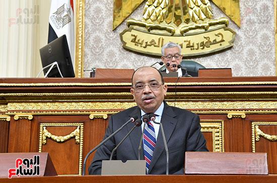 جلسه مجلس النواب - وزير التنميه المحليه (46)