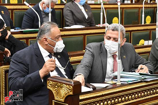جلسه مجلس النواب - وزير التنميه المحليه (36)