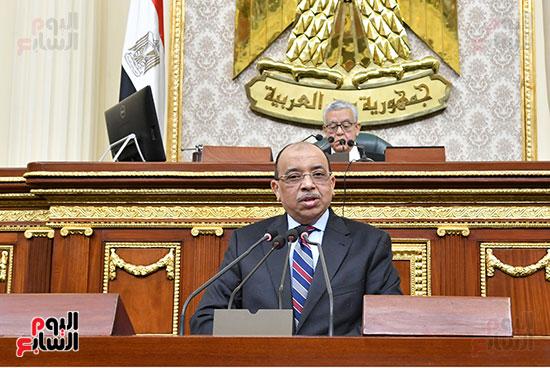 جلسه مجلس النواب - وزير التنميه المحليه (47)