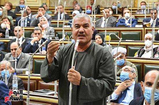جلسه مجلس النواب - وزير التنميه المحليه (14)