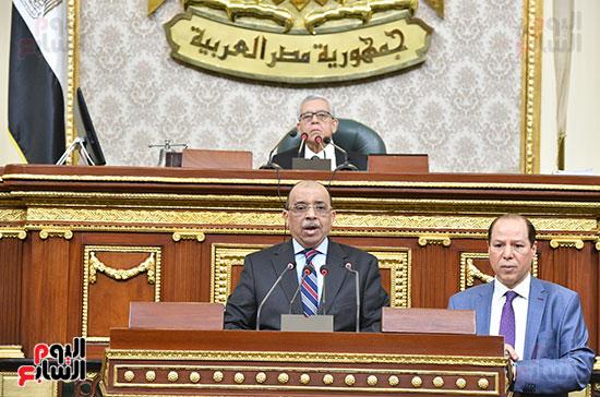 جلسه مجلس النواب - وزير التنميه المحليه (35)