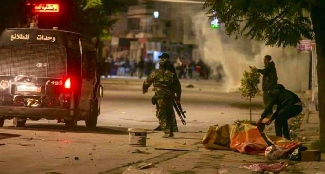 العنف في تونس